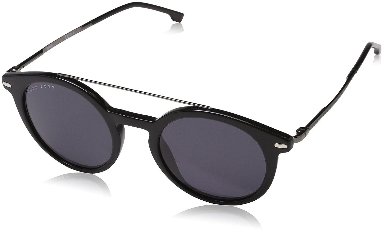 BOSS Hugo 0929/S IR 807 49 Gafas de Sol, Negro (Black Grey), Hombre