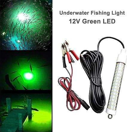 12V LED Bait Fishing Light Fish Finder LED Lamp Boat LED Submersible Underwater
