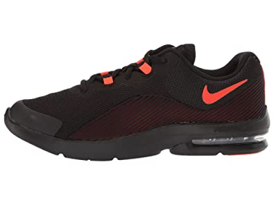 1d2df1c4d4ca9f Nike Boy s Air Max Advantage 2 Running Shoe Black Total Crimson Team Red  Size