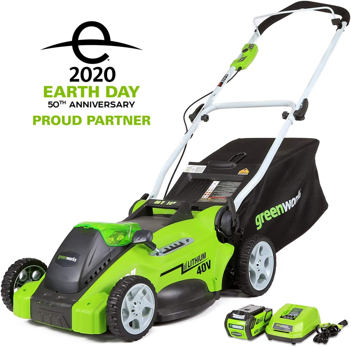 Greenworks 16-Inch 40V Best Battery Lawn Mower