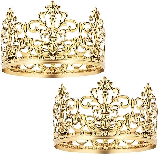 Amazon.com: BESTONZON 2 piezas Tiara Corona Decoración para ...