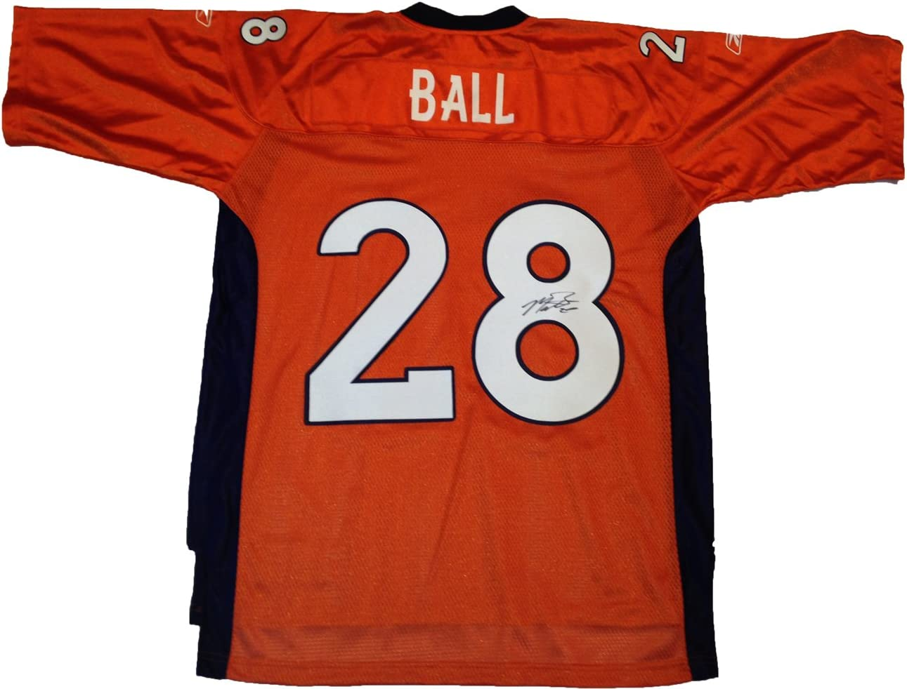 Montee Ball Autographed Denver Broncos Jersey W/PROOF Picture of ...