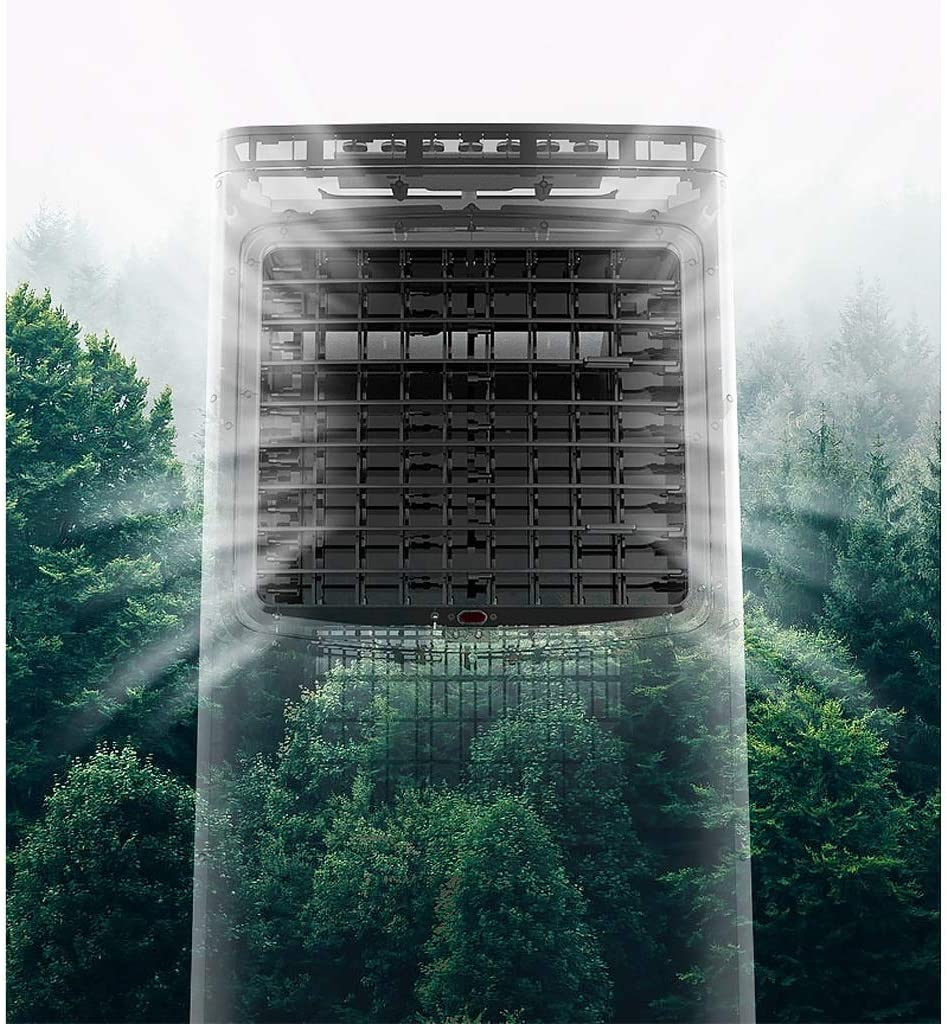 Ainaobaoybz Climatizador Evaporativo,Climatizador Portátil, Refrigerador de Aire portátil, Calentador, con Control ...