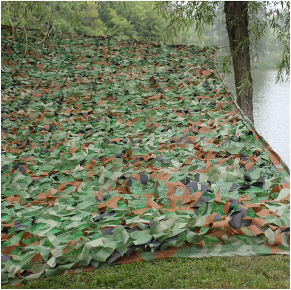 遮光ネット迷彩ネット カモフラージュネット 厚いカモフラージュネットキャンプ隠し狩猟用テントカモフラージュサンセット日焼け止めバードウォッチングゲームホームハロウィーンのクリスマスデコレーションに適しています 屋外の日陰の庭に適しています (Size : 6*8m)  6*8m