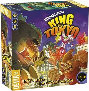 Devir - King of Tokyo, Juego de Mesa (222586): Amazon.es: Juguetes y juegos