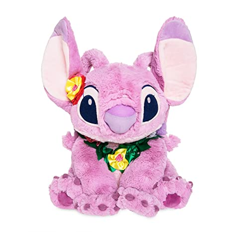 Official Disney Lilo & Stitch Angel Hawaiian 39cm Soft Plush Toy