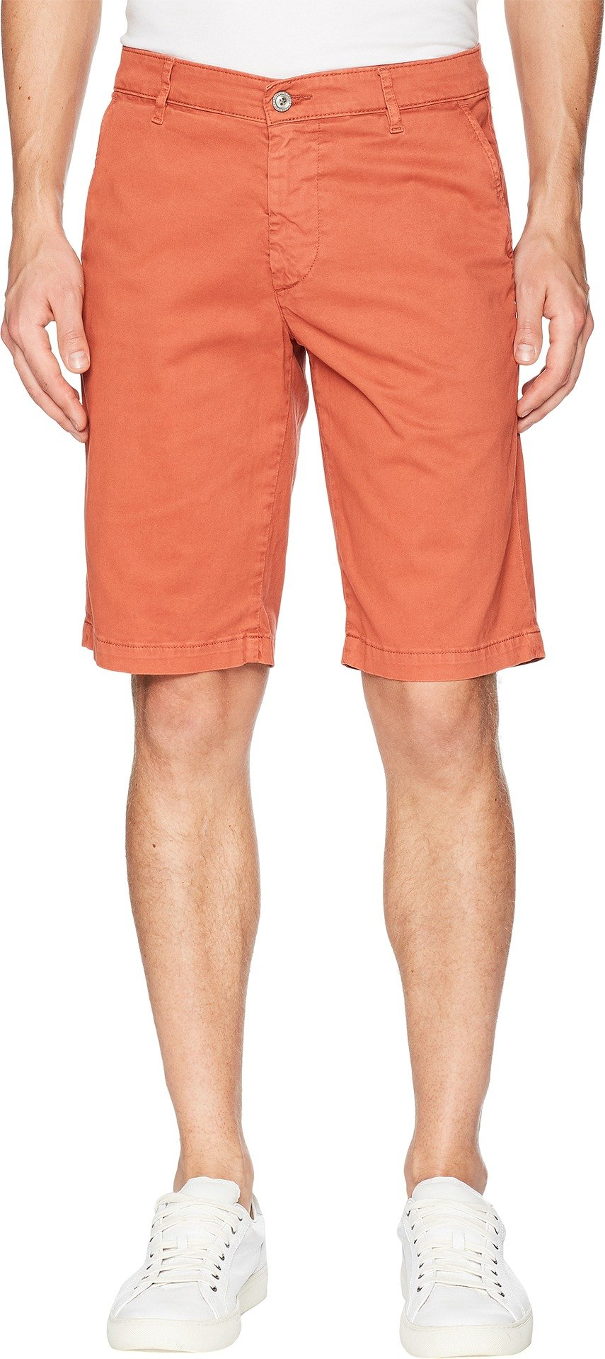 AG Adriano Goldschmied Men's Griffin Shorts in Sulfur Rosso Red Sulfur Rosso Red 36 11