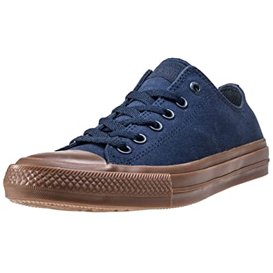 9714ba97aba5 Converse Chuck Taylor II All Star Ox Lo Sneaker Gumsole Blue (10 B(M