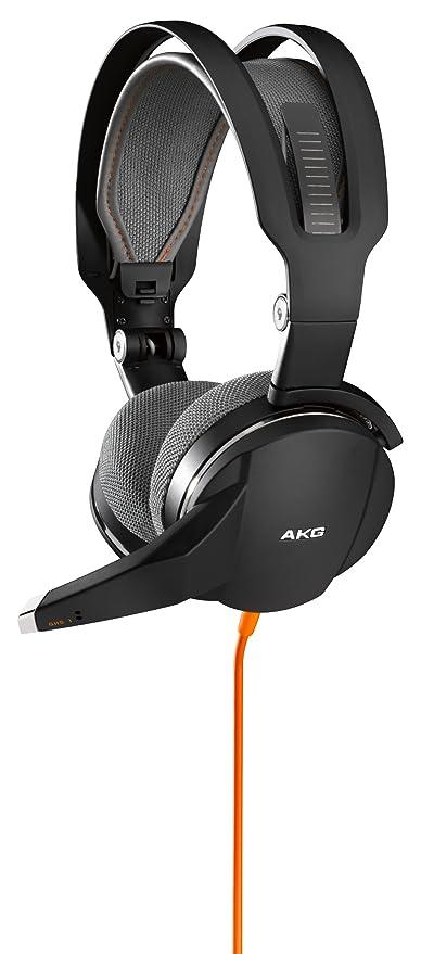 AKG GHS 1 - Auriculares para juegos, color negro