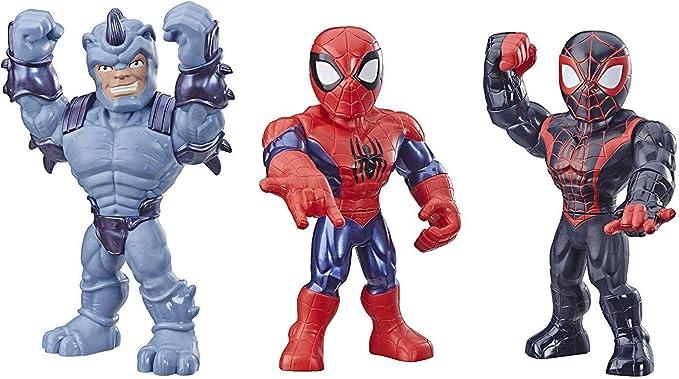 Playskool Heroes Mega Mighties Marvel Super Hero Adventures Web Warriors 3 Pack