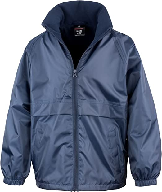 Result Core Kids Micro Fleece Lined Jacket R203J Navy 7-8 Years