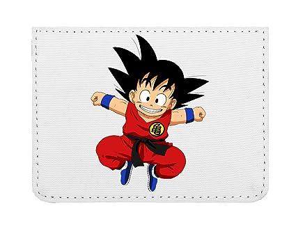 Happy Goku Dragon Ball Z Estuche para Tarjetas de crédito tamaño Bolsillo