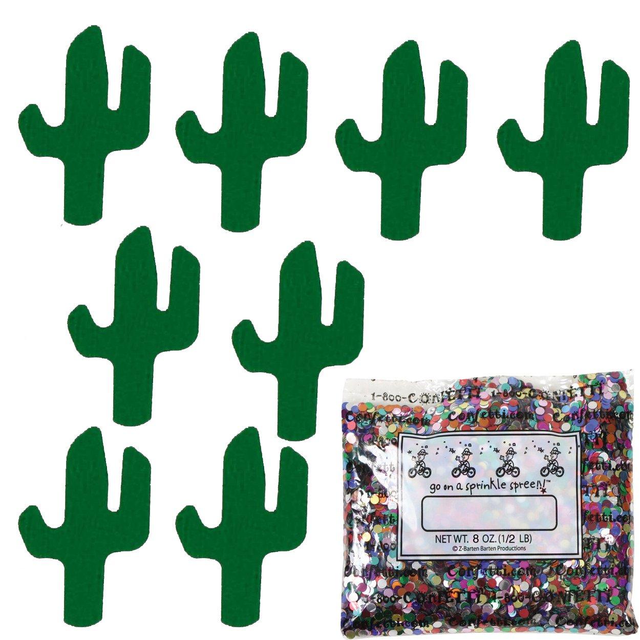 Confetti Cactus Green - One Pound (16 oz) Free Priority Mail (8745)