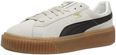newest 781b9 f781a Amazon.com | PUMA Women's Suede Platform Core | Fashion Sneakers