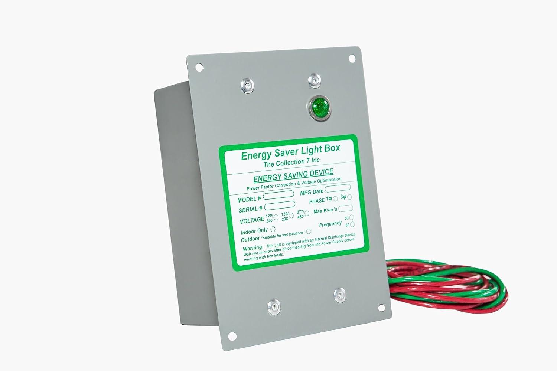 Power Factor Correction Unit Dryer Unit 4 Prong 1100 AMP Energy Saver Box KVAR