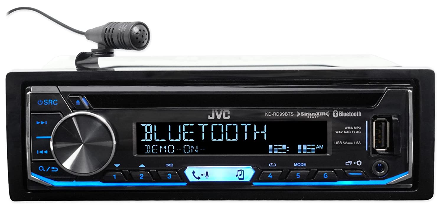 Jvc Cd Receiver W Bluetooth Usb Iphone Android Siriusxm Digital Media Wiring Diagram For 98 02 Honda Accord Gps Navigation