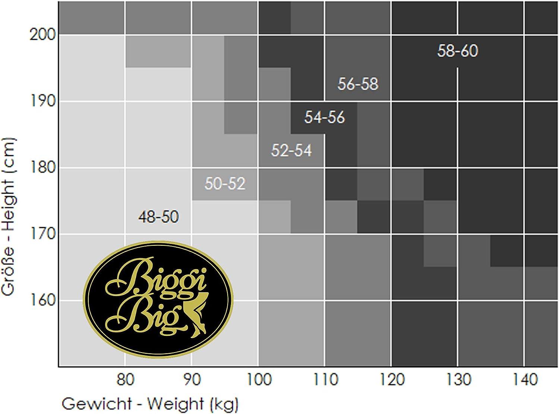 BIGGI BIG Magic 20 StrapsStr/ümpfe Gro/ße Gr/ö/ßen