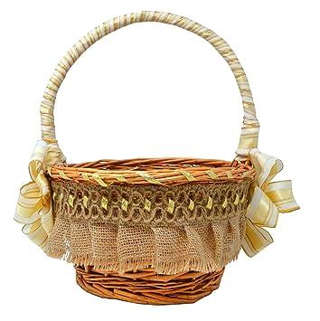 Amazon Bohemian Vintage Wedding Favor Basket Wedding Party