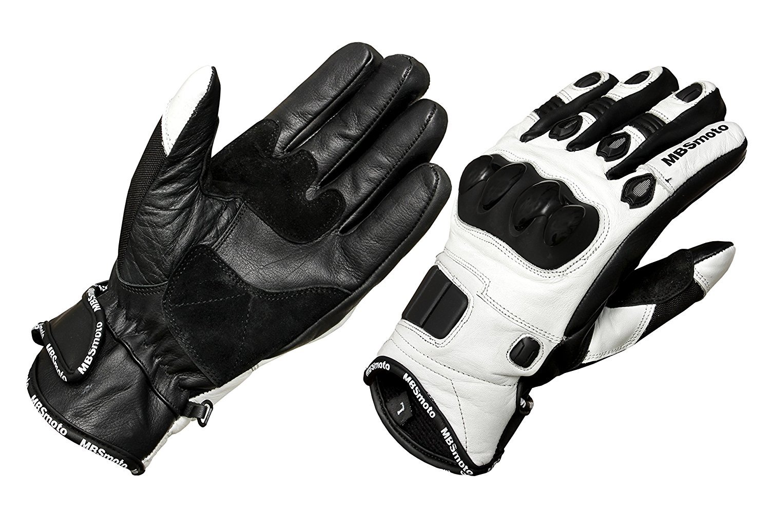 MBSmoto Motorcycle Bike Sports Cruiser Protective Leather Gloves