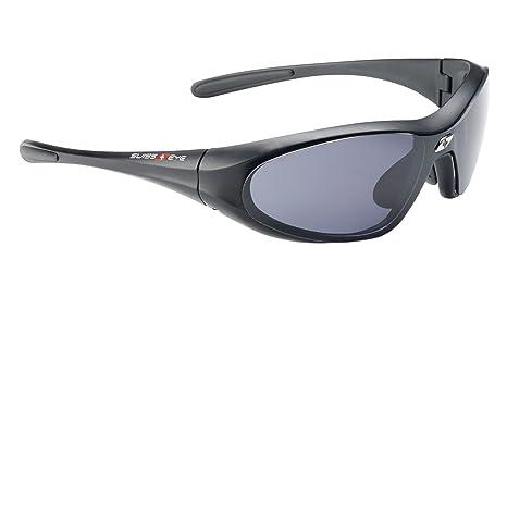 Swiss Eye - Gafas de sol deportivas (lentes polarizadas con efecto ahumado, tamaño mediano