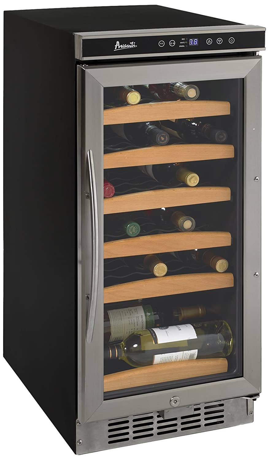 Avanti Wc1500dss 30 Bottle Wine Chiller With Electronic Compressor Assy Diagram Parts List For Model Dpr2260w Danbyparts Display Appliances