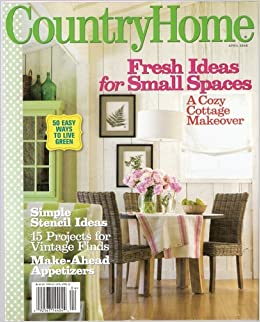 Better Homes And Gardens Country Home April 2008 Issue