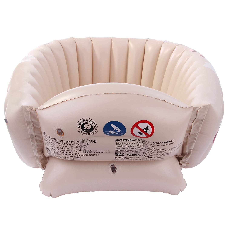 Amazon.com: Jilong Tiny Tots Inflatable Baby Bathtub for ...