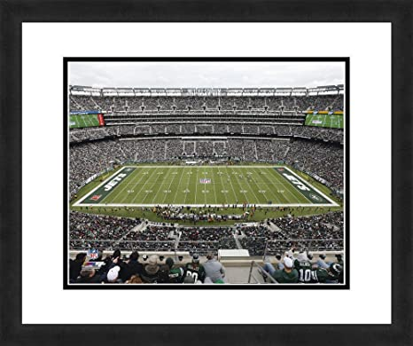 30d948217 Image Unavailable. Image not available for. Color: NFL New York Jets  MetLife Stadium, Beautifully Framed ...