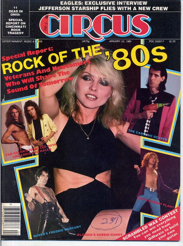 vintage 80/'s BLONDIE DEBBIE HARRY magazine photo