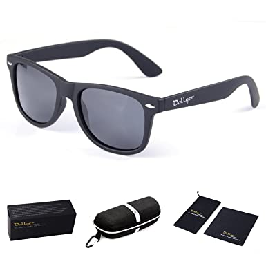 classic wayfarer glasses  Amazon.com: Dollger Classic Polarized Wayfarer Sunglasses Horn ...