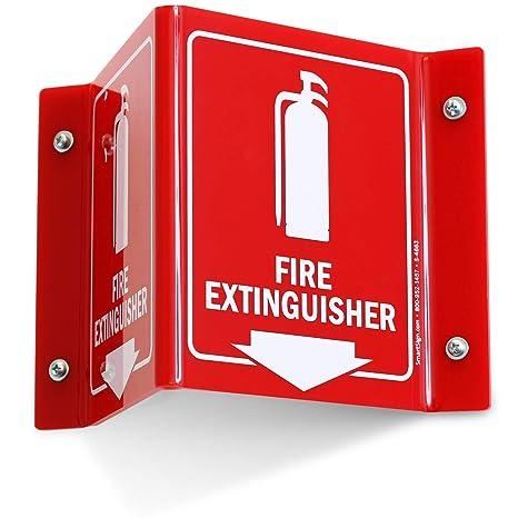 SmartSign- Señal de proyección de extintor de incendios ...