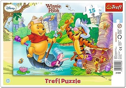 Amazoncom Trefl Frame Disney Winnie The Pooh Treasure Hunting