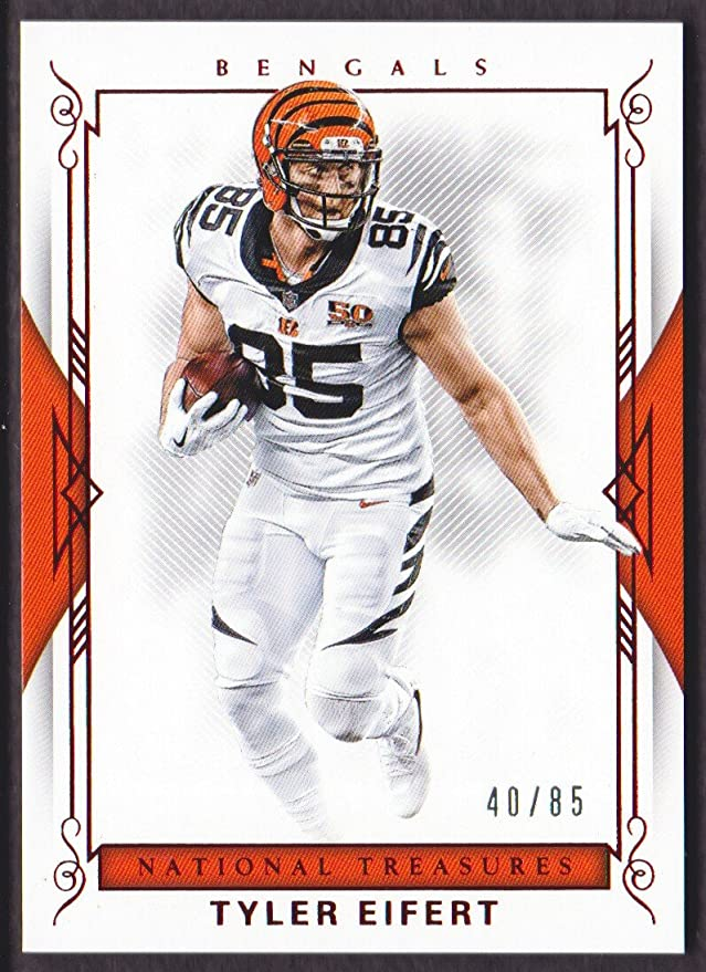 2017 Panini National Treasures Football Red Jersey Number #94 ...