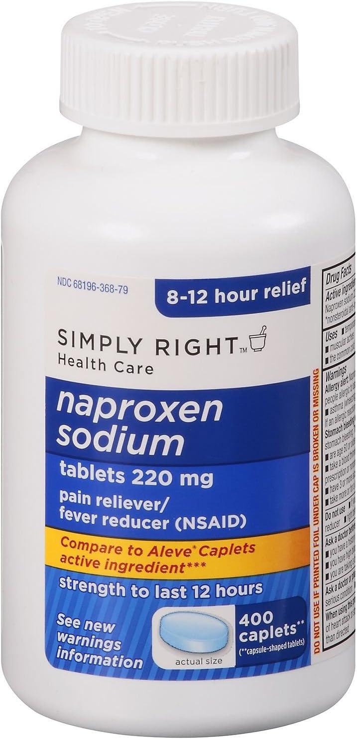 Simply Right Naproxen Sodium - 400 ct.: Health & Personal Care