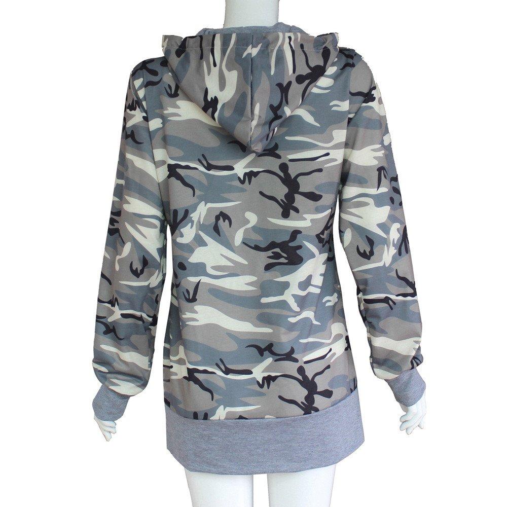 Elogoog Women Long Sleeve Hoodie Casual Musical Note Print Sweatshirt Pullover Tops