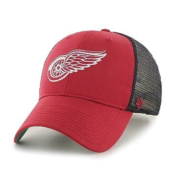 47 Brand Detroit Red Wings Branson NHL Trucker Cap  Amazon.co.uk  Sports    Outdoors d1a2b8443cd6