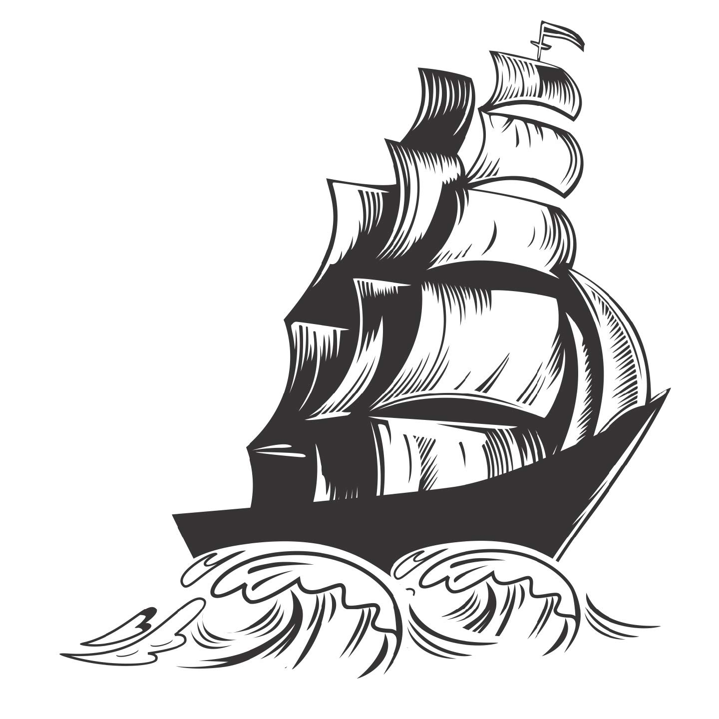 Buy decals design sailors ship wall sticker pvc vinyl 70 cm x 50 cm black online at low prices in india amazon in