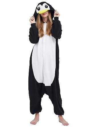 Jumpsuit Tier Karton Fasching Halloween Kostüm Sleepsuit Cosplay Fleece-Overall