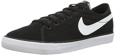 Nike Primo Court - Zapatillas de tela hombre, color negro, talla 45