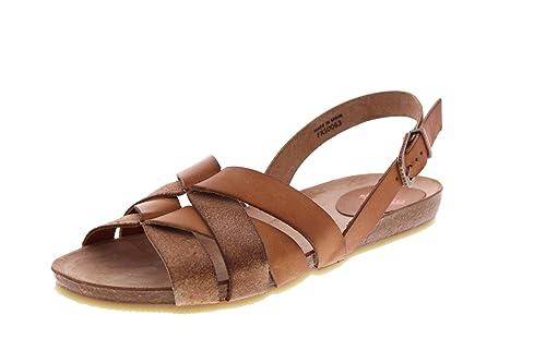 Womens Riemchen Gladiator Sandals, Brown (Dark Brown) Fred De La Bretoniere