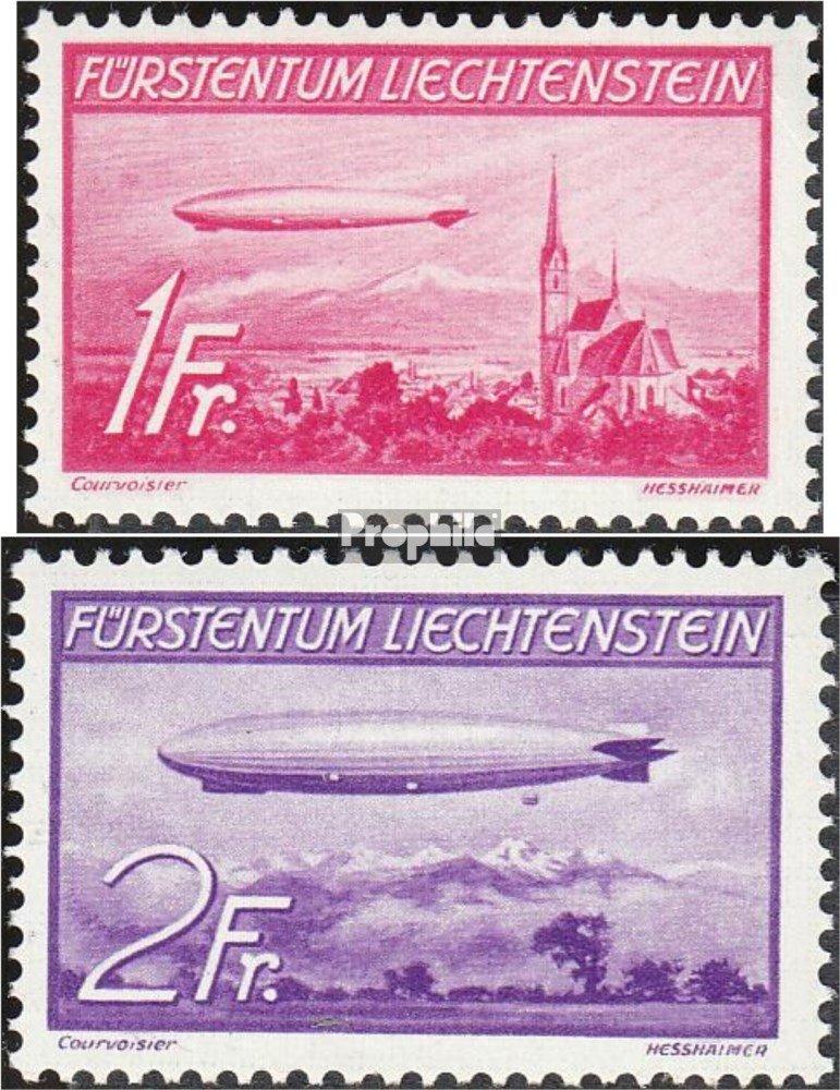 Prophila Collection für Liechtenstein 149-150 (kompl.Ausg.) 1936 Zeppelin (Briefmarken für Collection Sammler) Luftfahrt 5789ee