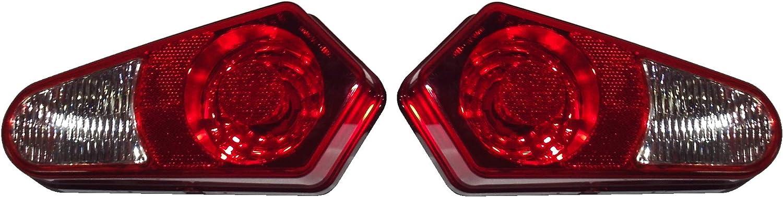2009-2014 Polaris Sportsman 550 XP 850 Tail Light Assembly and Sockets P96 Rear Tail Light Brake Lamp for 2005-2008 Polaris Sportsman 400 450 500 570 700 800 1000 xp