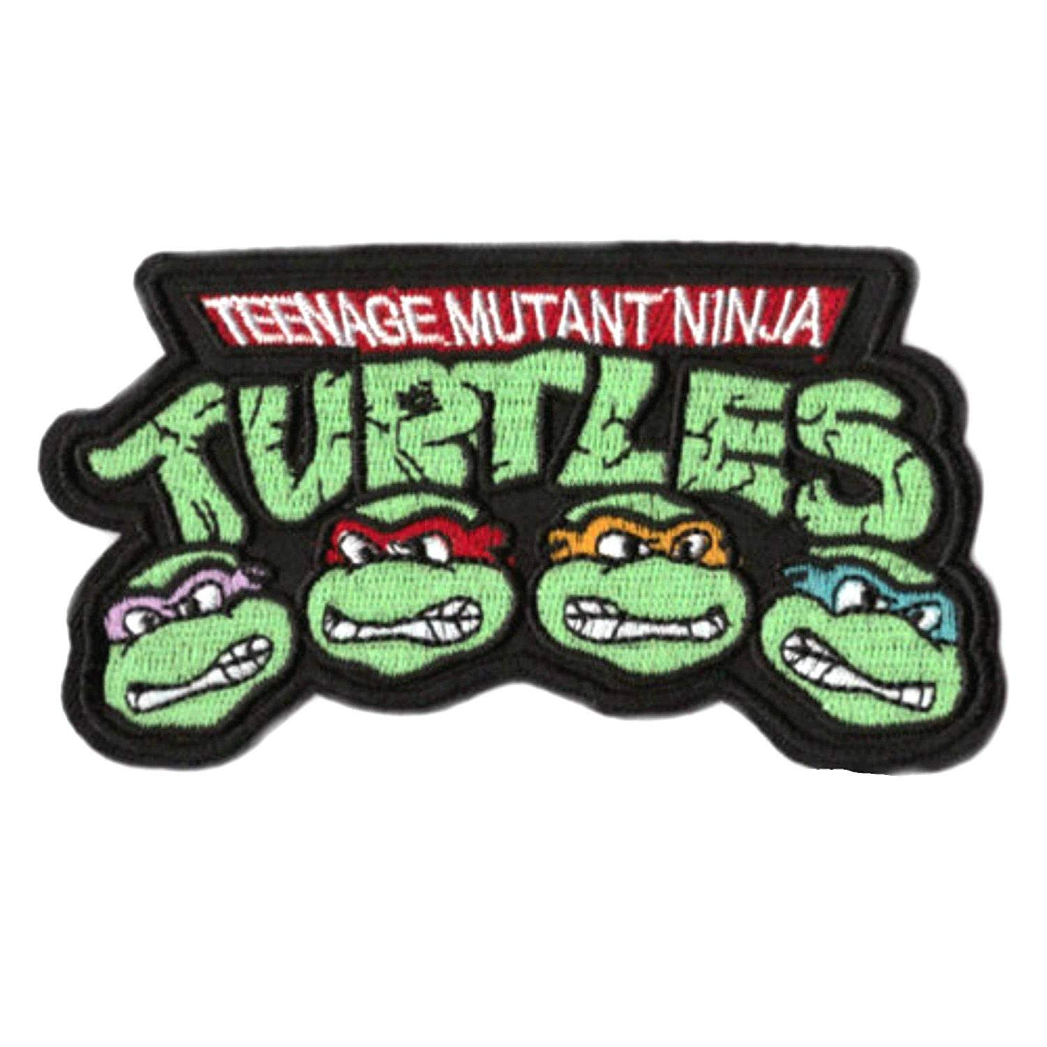Amazon.com: Teenage Mutant Ninja Turtles Embroidered Iron on ...