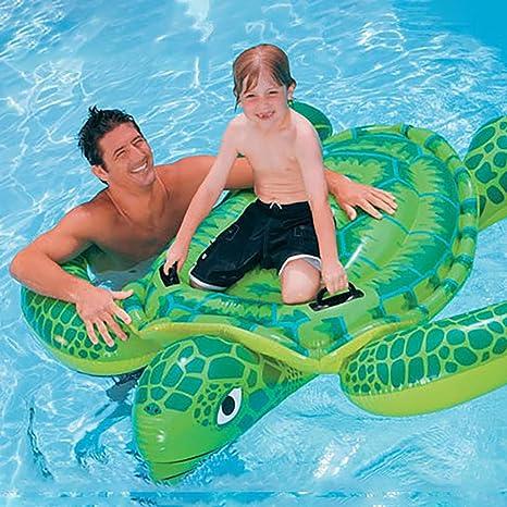 Amazon.com: Solovely Floating Row Frog Swimming Ring, Luxury ...