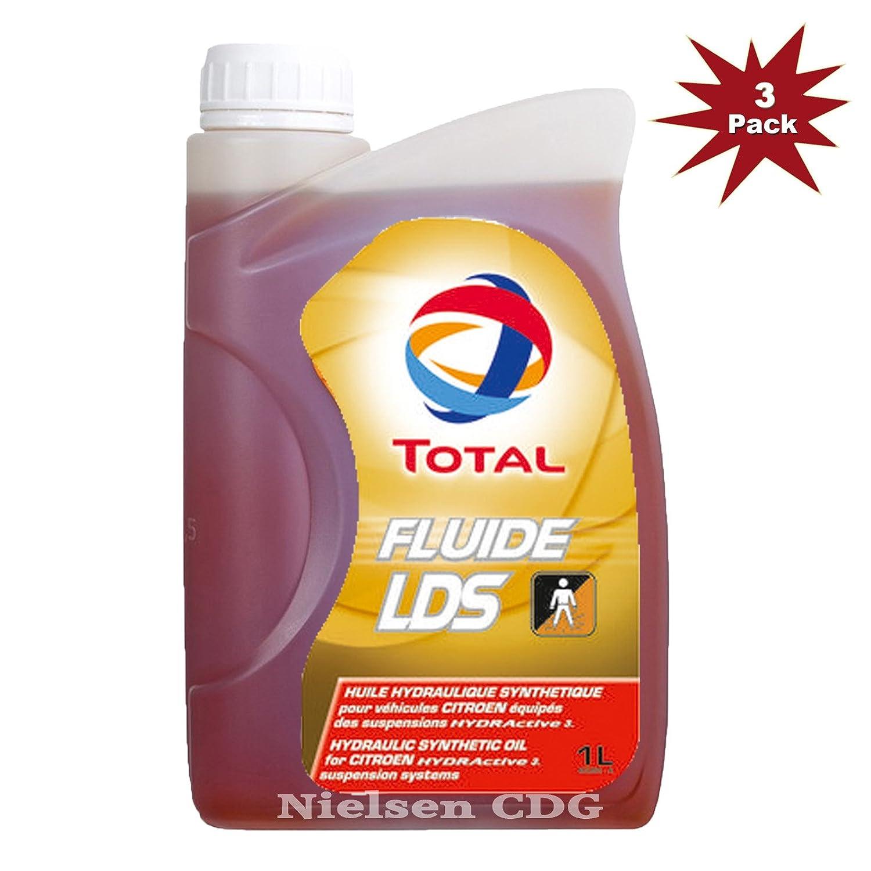 Huile synthé tique pour suspensions HYDRActive 3 Total Fluide LDS - 3 litres Nielsen CDG