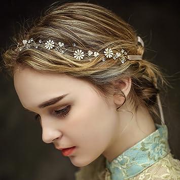 Vintage Braut Haar Kamm Rebe Stirnbänder Strass Haarschmuck Haarspangen Perlen Blumen Hochzeit Haarteile Crystal Strass Perle