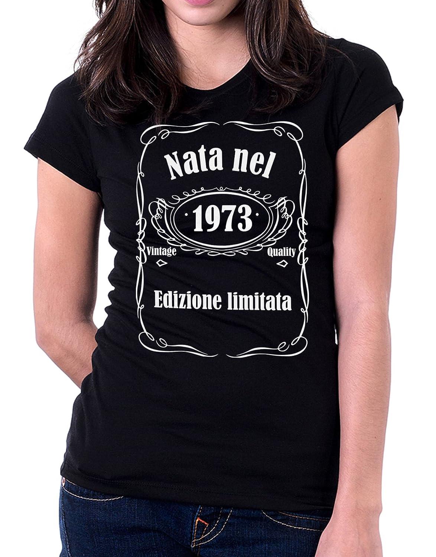 Tshirt cumpleaños Nata en 1973 - Edición Limitada - Vintage ...