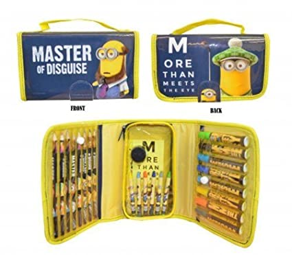 Amazon.com: Despicable Me Minion bolsa para colorear – Set ...