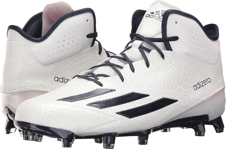 Blanc Collegiate Navy Collegiate Navy Adidas Originalsadizero 5-Star 5.0 Mid-M - Adizero 5-Star 5.0 Mid Homme 43 EU