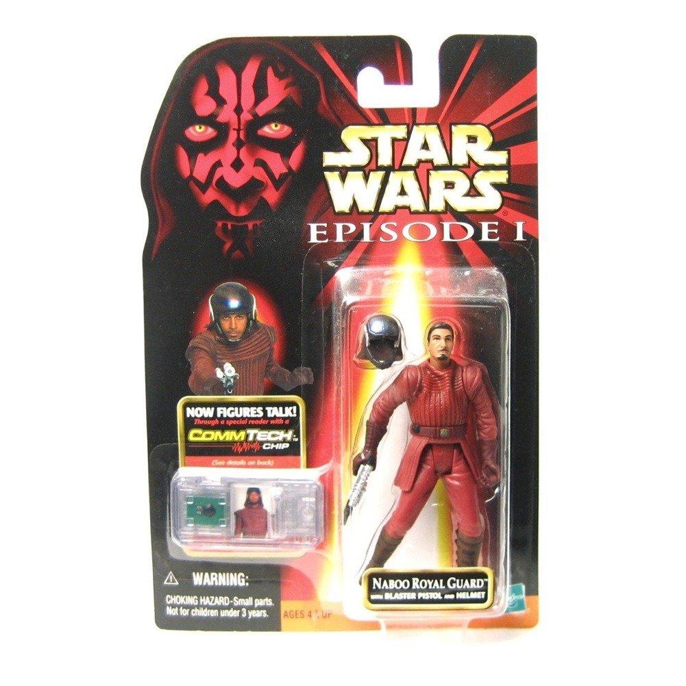 Star Wars Naboo Royal Guard w//Blaster Pistol and Helmet SW